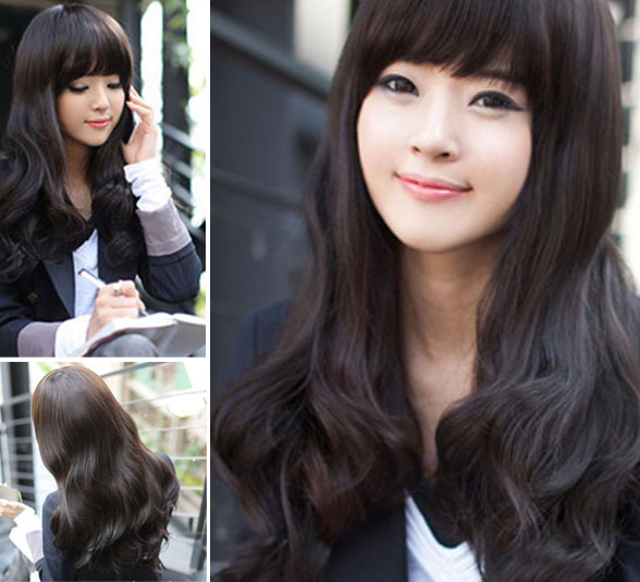 New Sweet Wavy Body Wave Hair Lace Wigs