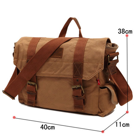 Leisure Canvas Shoulder Bag Messenger Bag