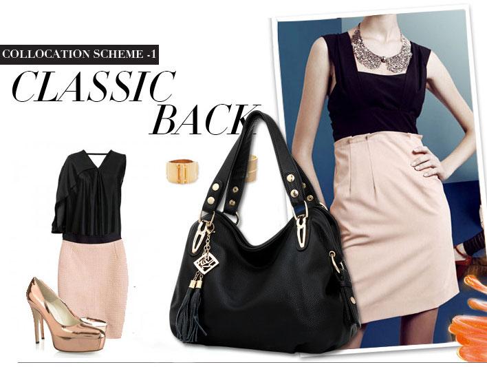 Noble Leisure Tassel Handbag & Shoulder Bag