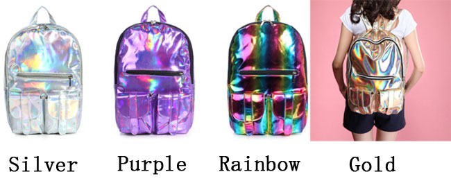 College Style colorful Gradient IPL Backpack  629862008e6e9