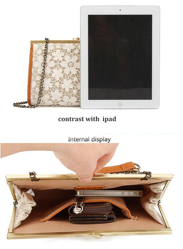 Fashion Elegant Lace Handbag