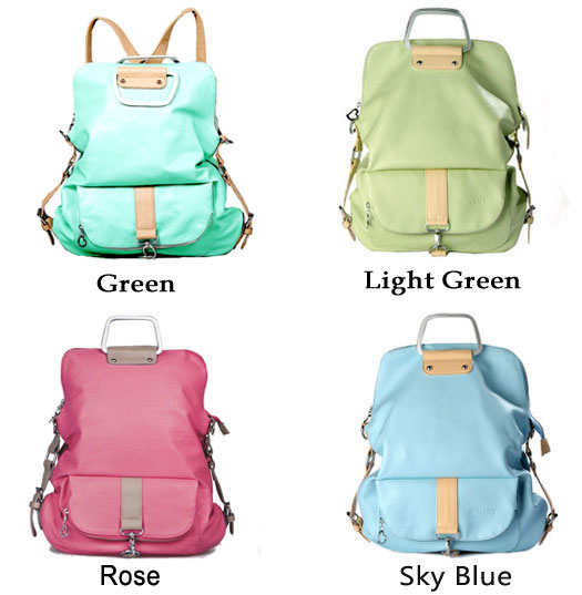 Unique Fresh Multifunction Backpack Handbag Shoulder Bag