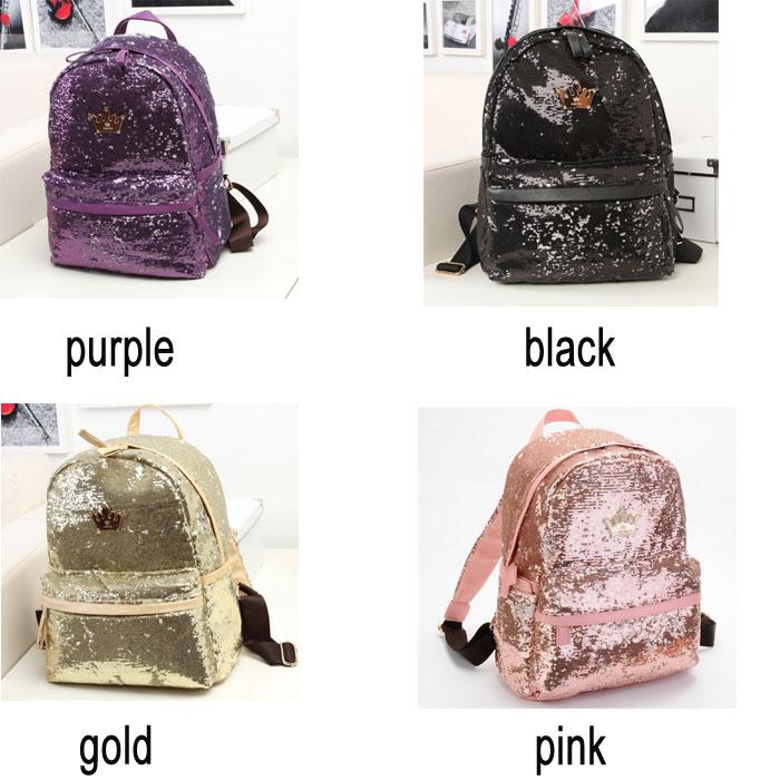 Cute Sequin Backpacks - Backpack Her