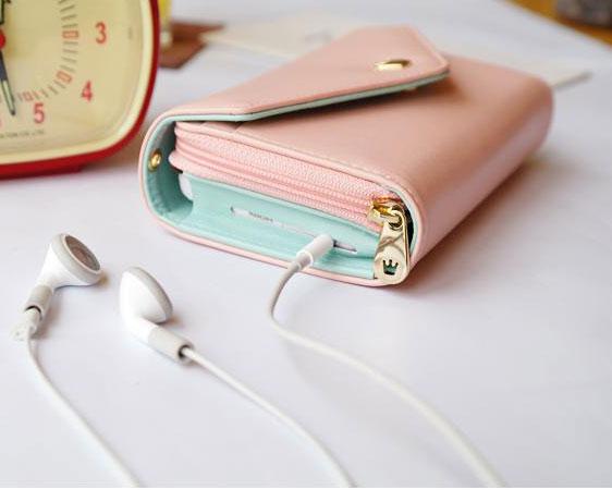 Iphone Crown Wallet Multifunctional Phone Wallets