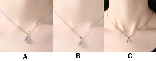 Fashion Silver Clavicle Screw Pendant Women's Necklace