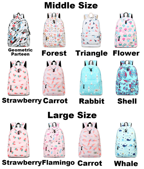 23173bc1a31 Lovely Canvas Fruit Cute Animal Vegetable Watercolour Carrot Painting Girls  School Backpack only $37.99 -ByGoods.com