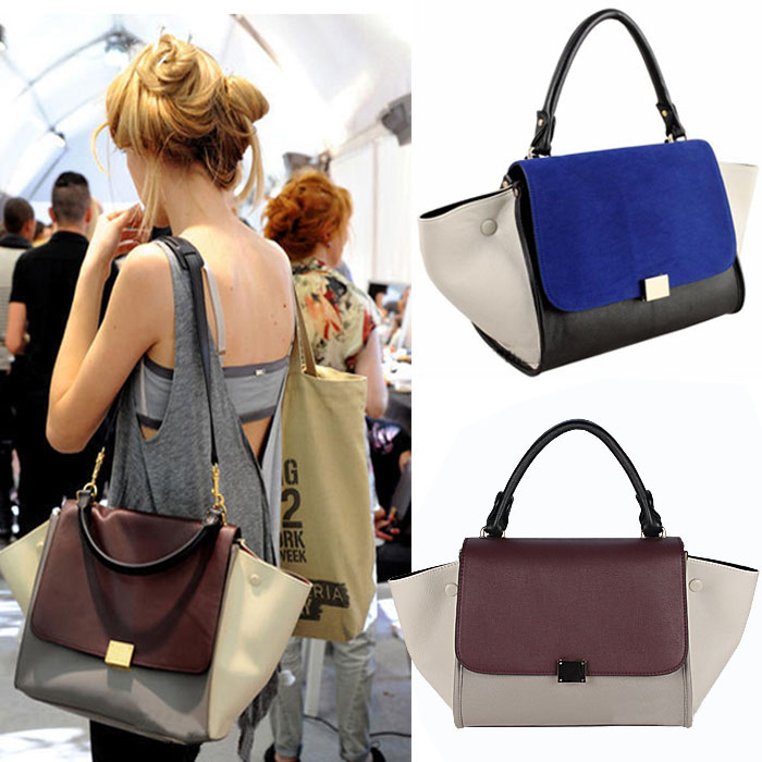 Designer Handbags Womens Fashion Bow Tie Tote Handbag