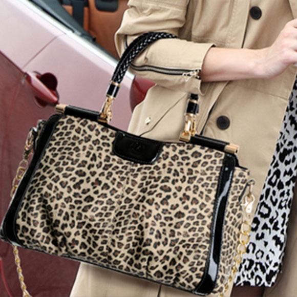 Fashion Designer Einzigartige Leopard Handtasche