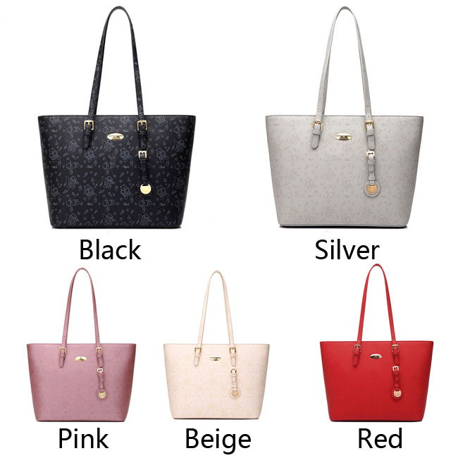 Retro Embroidery Women Simple Printing Satchel Bag Tote Bags Handbag