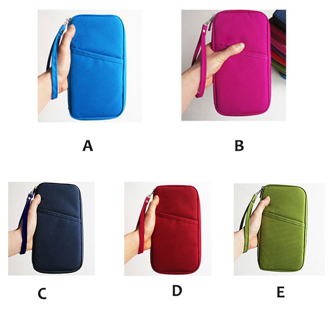fashion Useful Pure Travelling Clutch Bag