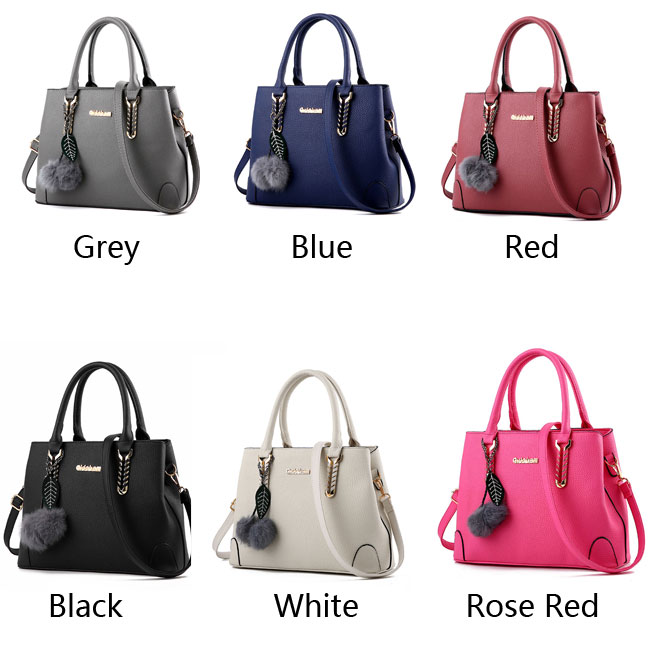 Elegant Ladies Twill Shoulder Bag Autumn Purse Messenger Crossbody Bags Winter Handbag