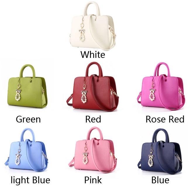Leisure Women Leather Shoulder Bag Tote Ladies Hard Purse Handbag