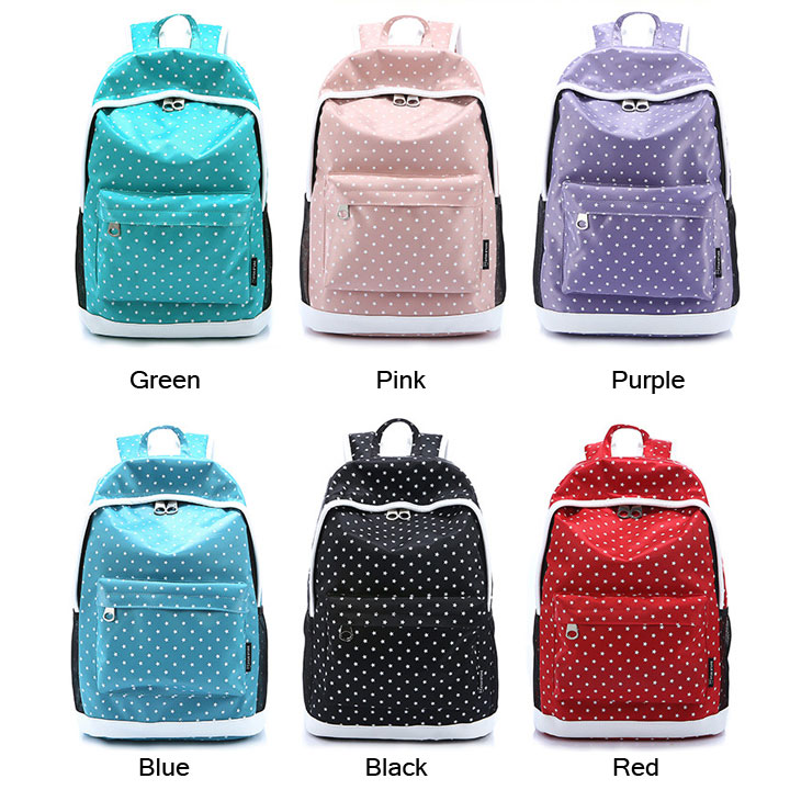 Fresh Leisure Cute Star Pattern Backpack