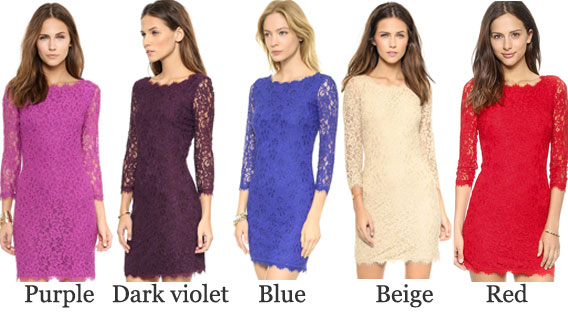 Crocheted Floral Print Embroidery Hollow Out Lace Dress