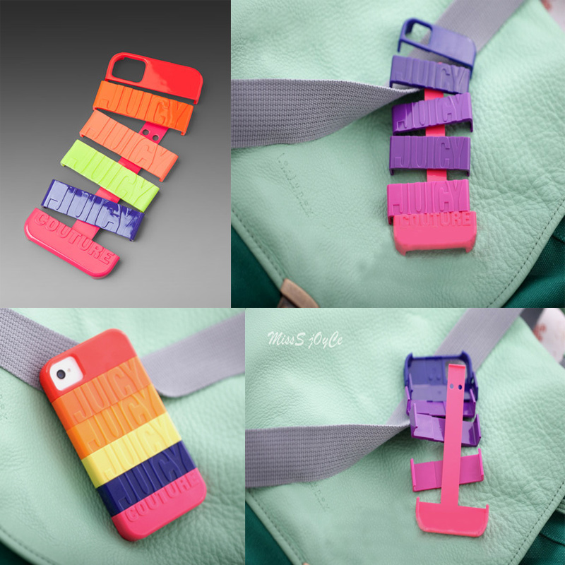 diy rainbow discoloration hard cover case for iphone 4 4s