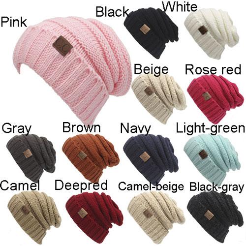 Women s Knit Beanie Hats Toasty Beanie Warm Wool Knit CC Hat ... a24779c5abcd