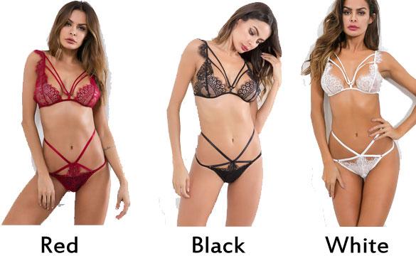 Sexy Lace Bra Set Unique Intimate Women Lingerie