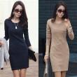 High Quality Long Sleeve OL Dresses