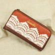 Retro Lace Handmade Leather Wallets