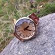 Retro Funny Dial Rhinestone Watch