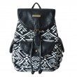 Folk Style Totem Geometry Backpack Student Book Bag