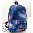 Flag Shining Galaxy College Student Backpacks