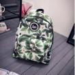 Korean Simple Casual Oxford Cloth Backpack&Schoolbag