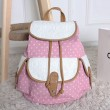 Nice Dot Lace Floral Solid Leisure Backpack