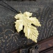 925 Silver Maple Leaf Silver Pendant Necklace