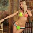 Sexy Colorful Beachwear Multi Rope Bikini Swimwear