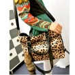 New Fashion Fox Tail Ornaments Leopard Printed Handbag&Shoulder Bag