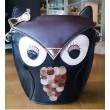 Retro Cartoon Cute Owl Messenger&Shoulder Bag