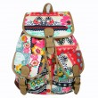 Folk Style Printed  Jacquard Leisure Backpack&Schoolbag