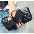 Fashion Black Butterfly clutch Bag&Shoulder Bag