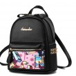 Cute Cartoon Graffiti Rivet School Bag Student Backpack