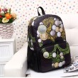 Personalized Fashion Skull Printed Backpack