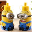 Cute Minions Cartoon Stainless Steel Big Vacuum Cup