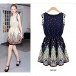 Fresh New Bohemia Print Style Dress