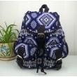 Fashion Geometry Gradient Folk Style Printed Leisure Backpack&Schoolbag