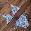 Aztec Print Sexy Bikinis Set Folk Style Swimwear Beach Bathing Suit