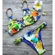 Butterfly Print Bandage Bikini Braid Duplex style Swimsuits Bikini Set