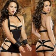 Sexy Female Prisoner SM Temptation Lotion Hollow Bundle Women Lingerie
