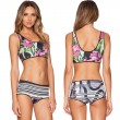 Geological Texture Print Bikini Unique Nice Swimsuit Bathing Suits Swimwear