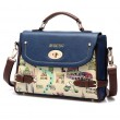 Cute Cartoon Leather Handbag Shoulder Bag