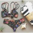 Floral Sexy Halter Straps Sexy Bikini Set Swimsuit Swimwear Bathingsuit