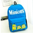 Happy Cartoon Three Minions Backpack
