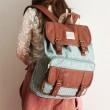 Cute Dot Print Cover Leisure Backpacks