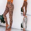 Sexy Leopard Print High Waist Yoga Pants Women Slim Leggings