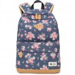 Fresh Flower Student Bag Floral Large School Canvas Backpack