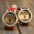 Retro Lace Fresh Campus Hollow Watch